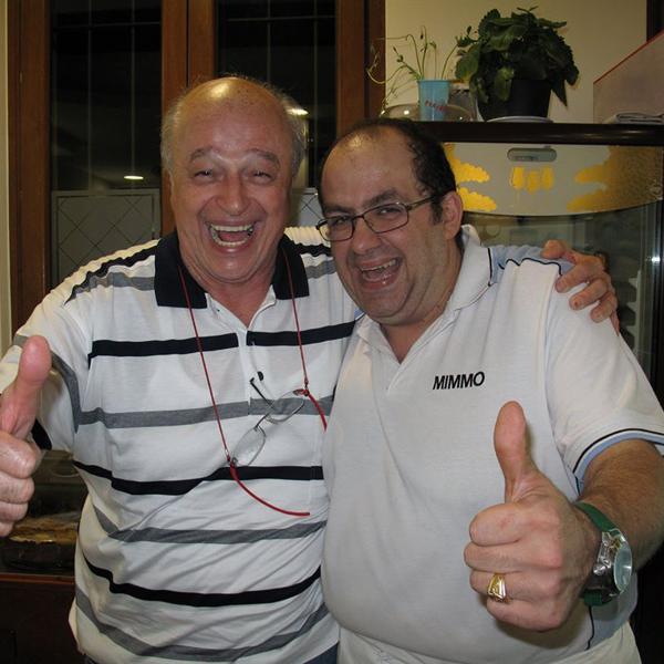 Piatti tipici napoletani - Mimmo con Massimo Ferrari